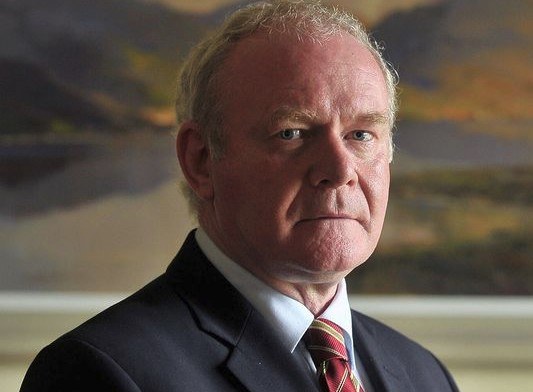 Martin Mcguinness - Northern Ireland Game at Euro 2016