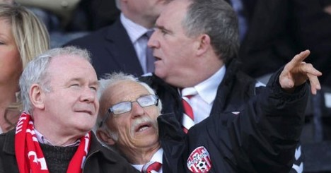 Martin Mcguinness - lifelong supporter of Derry